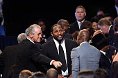 LOUISVILLE, KY - JUNE 10: Ray Lewis attends the Muhammad Ali Memorial Service at KFC YUM! Center on June 10, 2016 in Louisville, Kentucky. (Photo by Stephen J. Cohen/WireImage)
